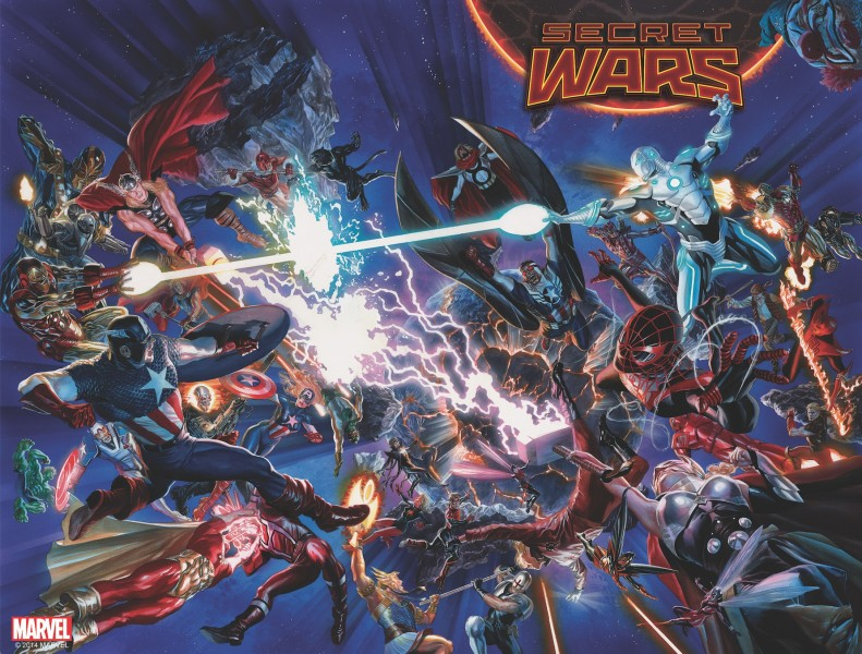 Secret Wars 2015 event comics