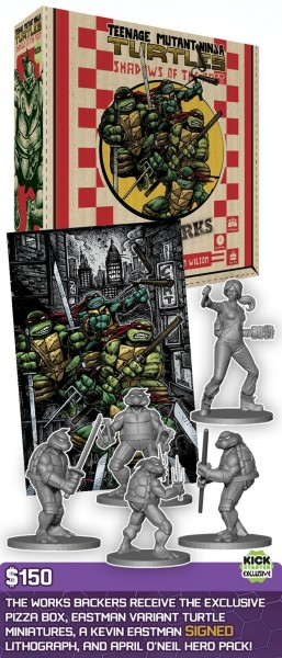 Teenage Mutant Ninja Teenage game $150 pack