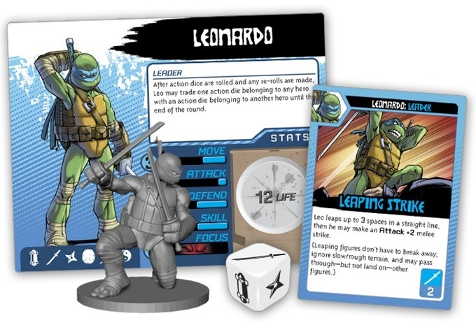 Teenage Mutant Ninja Turtles game Leonardo