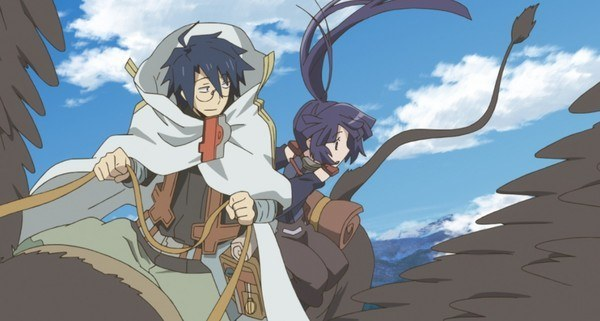 log horizon - Shiroe and Akatsuki