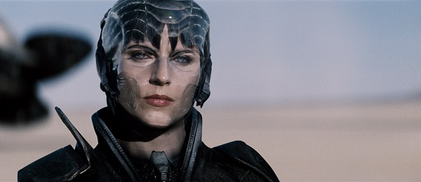 "ANTJE TRAUE as Faora-Ul in Warner Bros. Pictures' and Legendary Pictures' action adventure ""MAN OF STEEL,"" a Warner Bros. Pictures release."