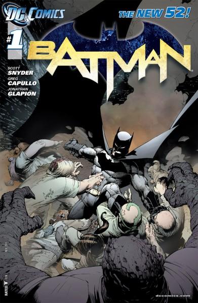 Batman #1 cover creative teams