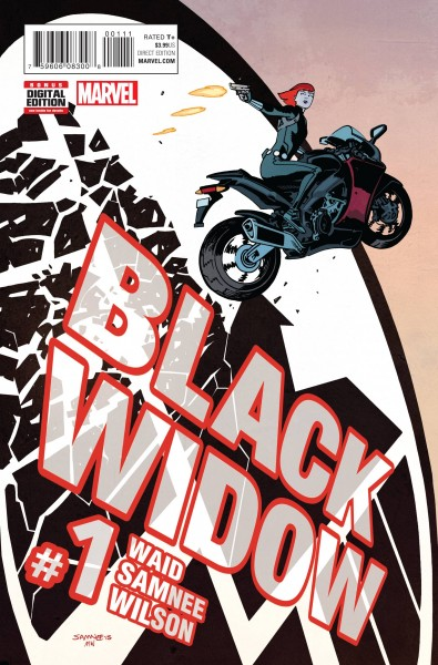 Black Widow #1 2016 creative teams
