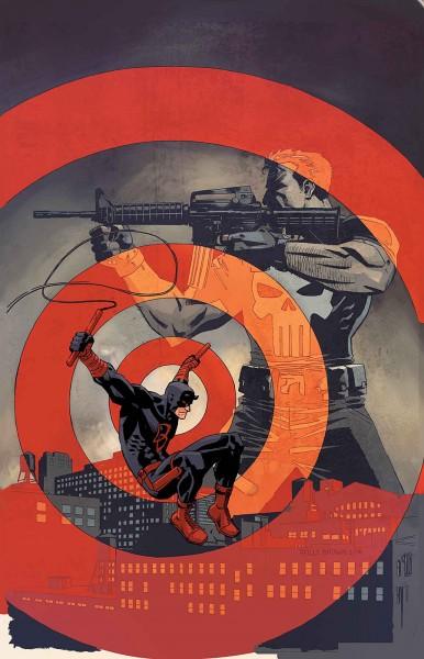 Daredevil Punisher Cover
