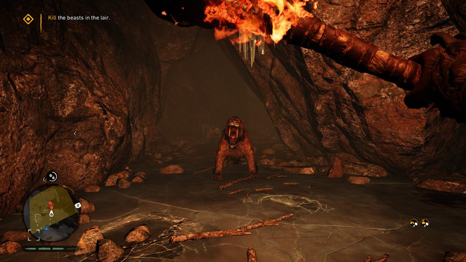 Far Cry Primal Sabertooth tiger