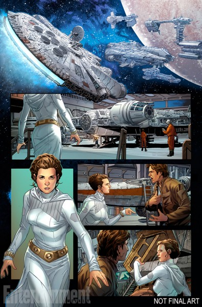 Han Solo Comic Page 02 from Entertainment Weekly