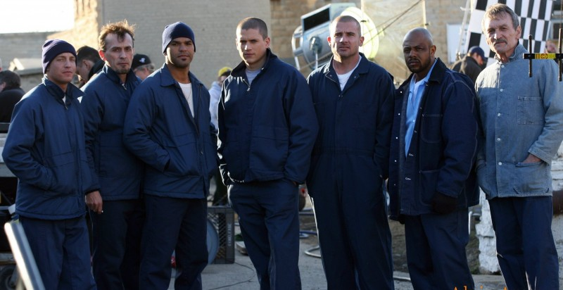 Robert Knepper, Amaury Nolasco, Wentworth Miler, Dominic Purcell, Rockmund Dunbar - Prison Break