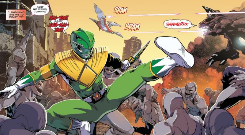 Power Rangers: HUH-- HUT-- HAI-YAH