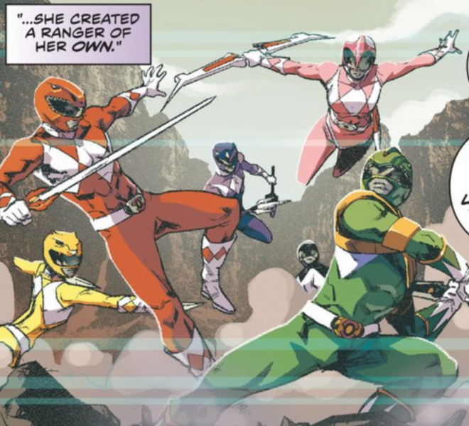 Power Rangers: now that's a waist