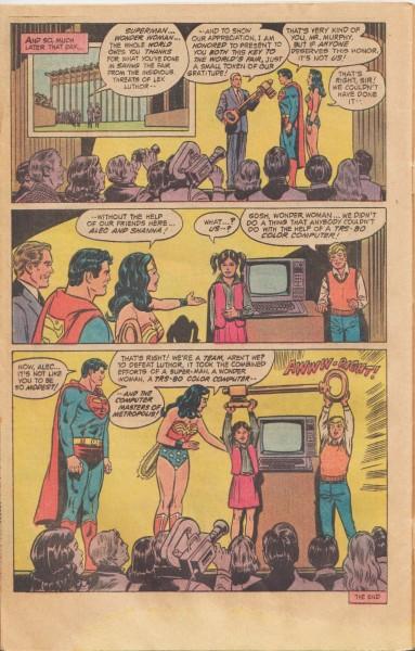 Superman Wonder Woman Radio Shack i4