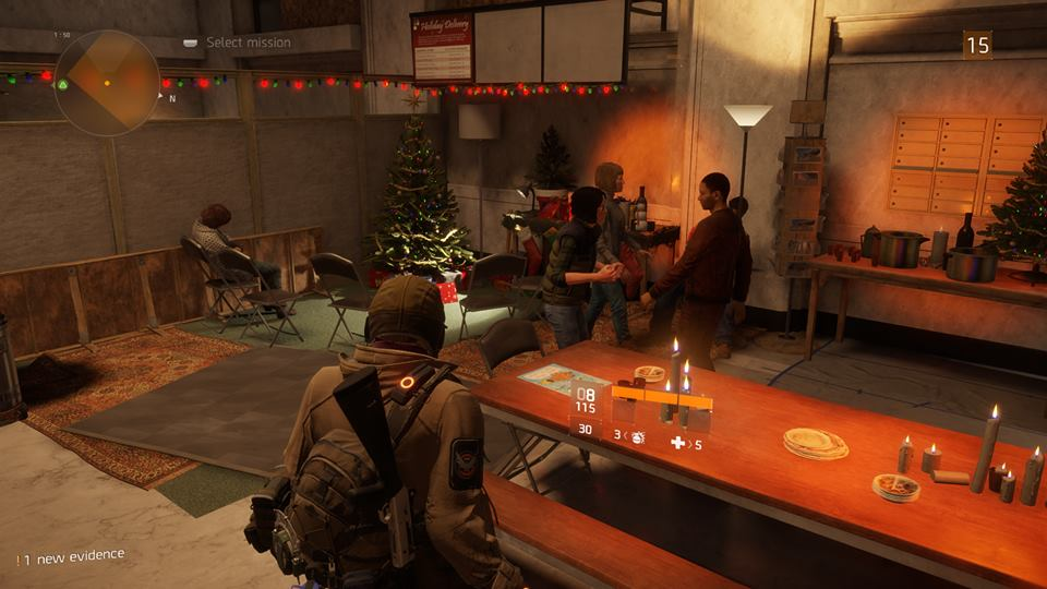 The Division home base people
