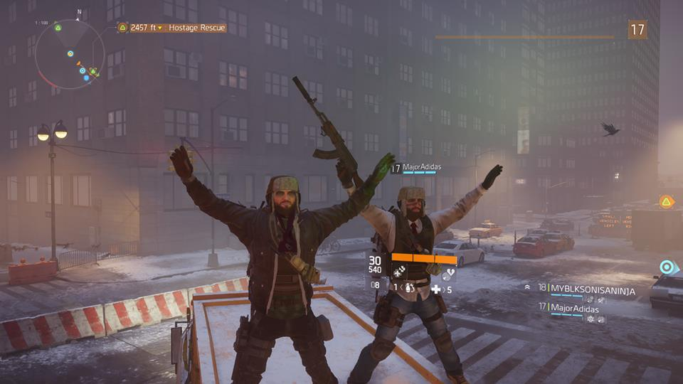 The Division online friends