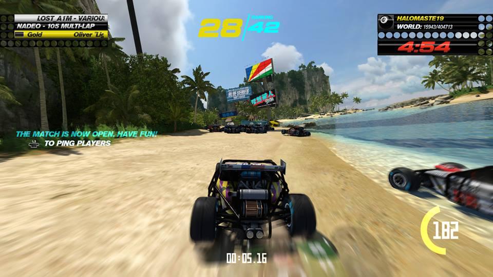 Trackmania turbo buggy race
