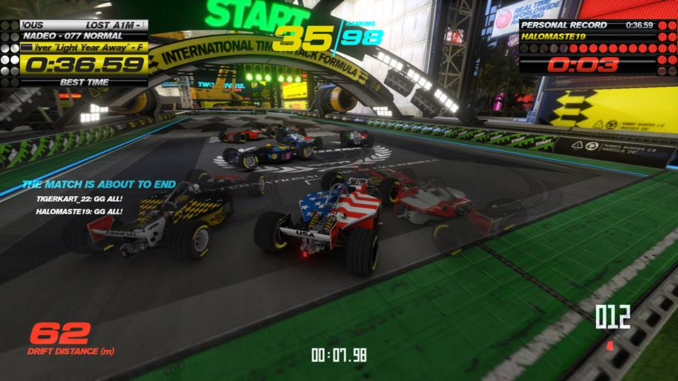 Trackmania turbo f1 stadium