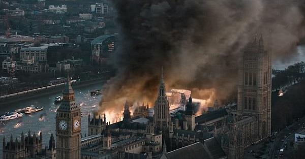 london has fallen london destruction