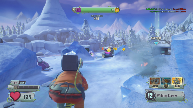 Overall, The Graphics Work Beautifully To Bring The Players Into The Crazy  World That Its Inhabitants Occupy. Pvz While The Storytelling In Garden  Warfare 2 ...
