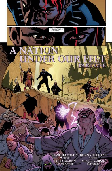Black Panther #1 - i2