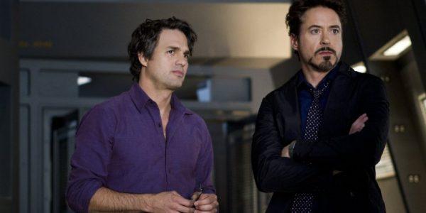 Tony Stark and Bruce Banner