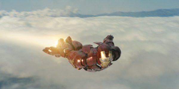 Iron Man Mid-Flight
