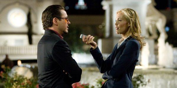 Tony Stark and Christine