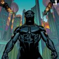black panther #1 cover