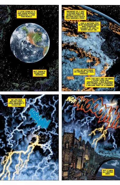 DC Universe: Rebirth #1 Image 1