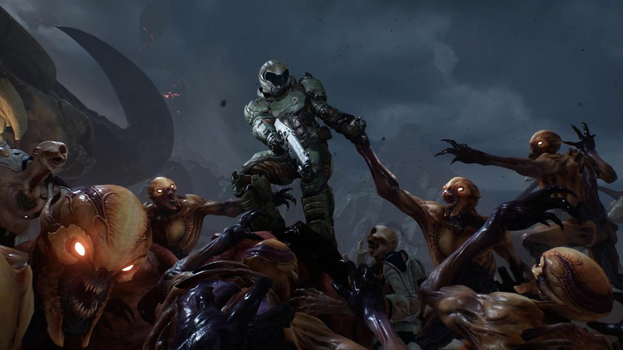 Doom 2016 cover