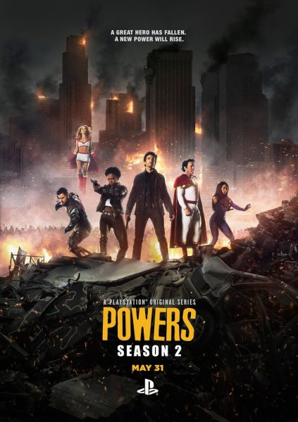 Season 2 Poster - Powers