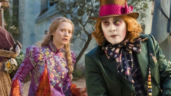 alice through the looking glass - alice and the mad hatter