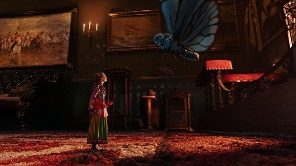 alice through the looking glass - the butterfly