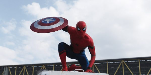 captain america - spider-man