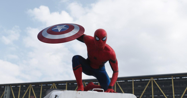 captain america - spider-man