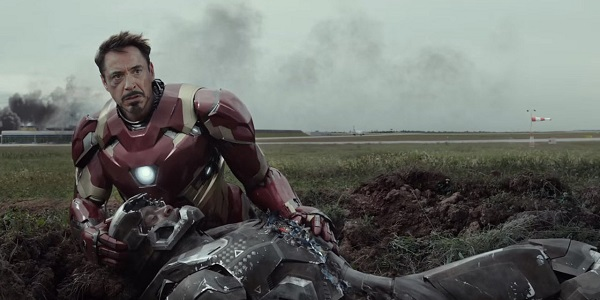 captain america - upset iron man