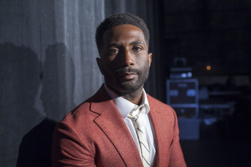 Journalist and New York Times Critic at Large Wesley Morris before delivering the 59th San Francisco International Film Festival State of Cinema address, April 30, 2016. © Pamela Gentile