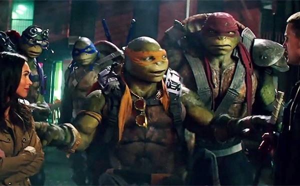 teenage mutant ninja turtles - the turtles and april