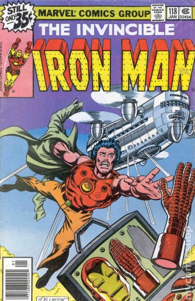 Iron Man #118 - James Rhodes debuts