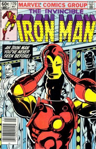 Iron Man #170 - James Rhodes Takes Over