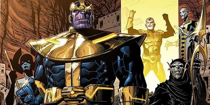 Thanos - worst comic book fathers