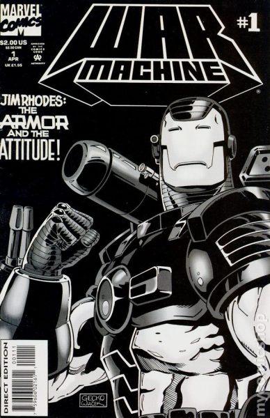 War Machine #1 - James Rhodes solo series