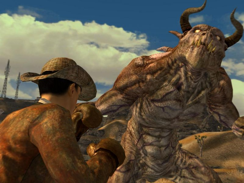"""""""Oh shit, is this on easy?"""" - Last words of Jeremy the aristocratic deathclaw."""