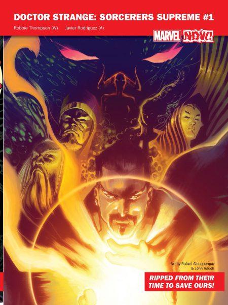 Doctor Strange Sorcerers Supreme #1 - Marvel NOW!