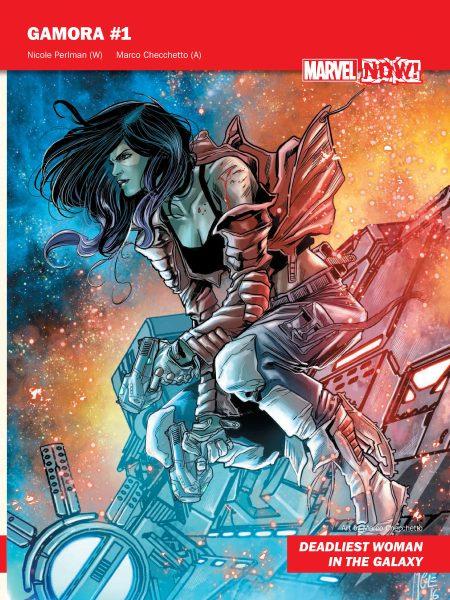 Gamora #1 - Marvel NOW!