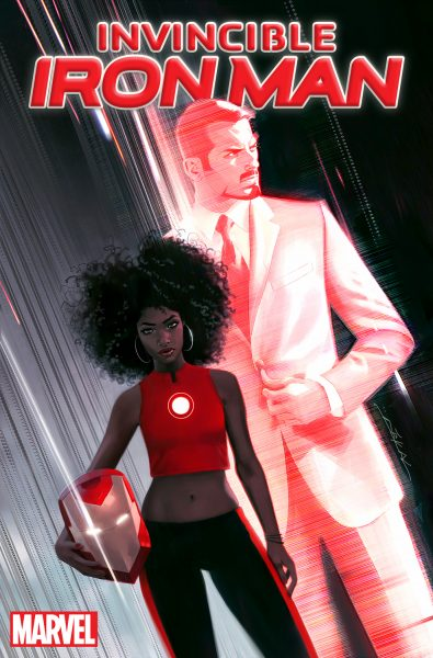 Invincible Iron Man #1 - diverse characters