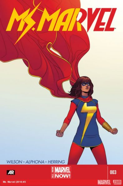 Ms. Marvel #3 - diverse characters
