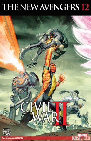 New Avengers #12 - U.S. Avengers