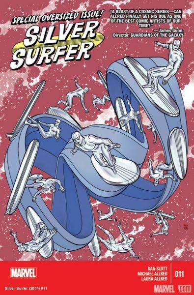 Silver Surfer 11 cover - 2016 Eisner Awards