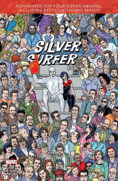 Silver Surfer #5 cover