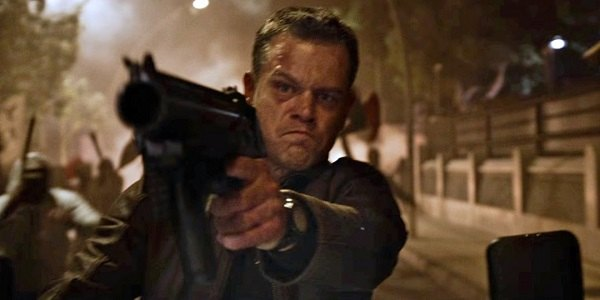 jason bourne with flare gun