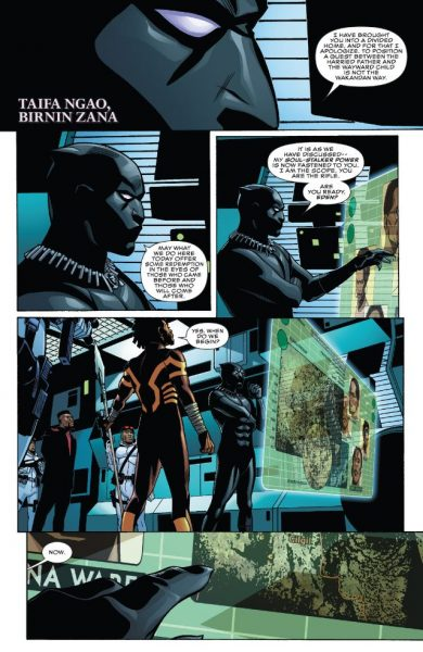 Black Panther #5 p1