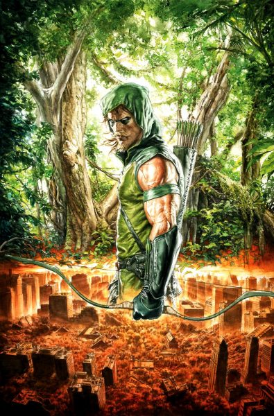 Green Arrow - Top Five Superheroes without Powers